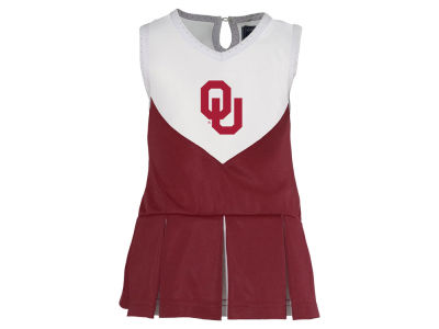 Oklahoma Sooners Garb NCAA Toddler Girls Cheer Dress