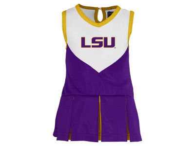 LSU Tigers NCAA Toddler Girls Cheer Dress