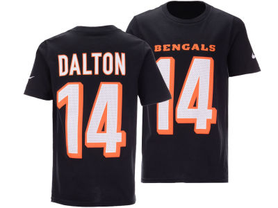 Cincinnati Bengals Andy Dalton Nike NFL Youth Pride Name and Number 3.0 T-Shirt