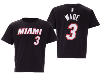 Miami Heat Dwyane Wade Nike NBA Toddler Replica Name and Number T-Shirt
