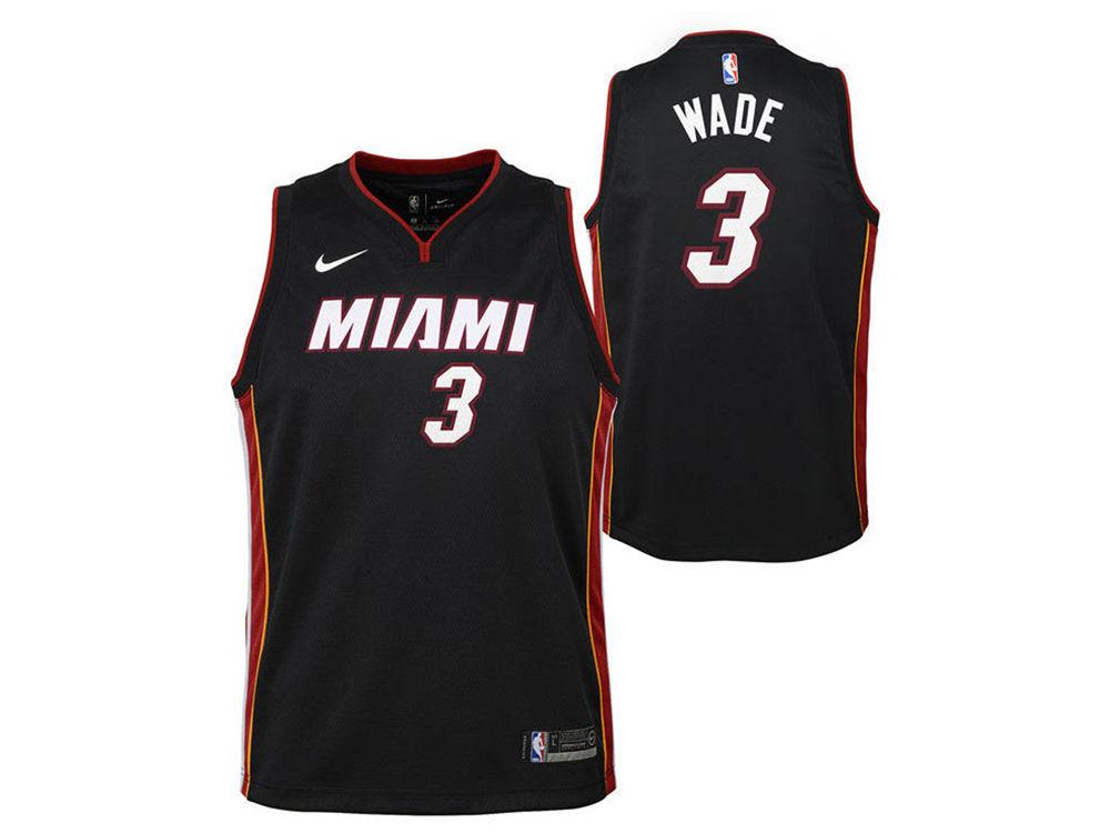 Miami Heat Dwyane Wade Nike NBA Toddler Icon Replica Jersey  51d3fe2f8