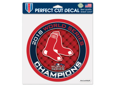 Boston Red Sox Wincraft Event 8x8 Die Cut Decal