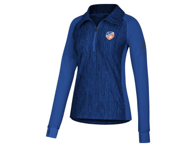 FC Cincinnati adidas MLS Women's Crest Too Quarter Zip Pullover