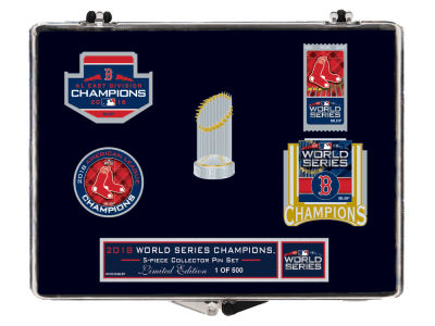 Boston Red Sox Wincraft Collector Pin Set - 2018 World Series Champs