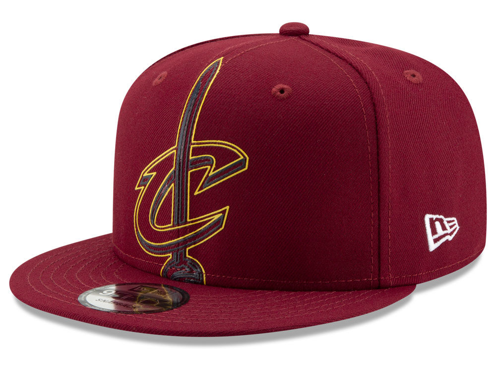 ff0008e8044 Cleveland Cavaliers New Era NBA Light It Up 9FIFTY Snapback Cap ...