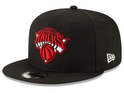 New York Knicks New Era NBA The Bred Man 9FIFTY Snapback Cap