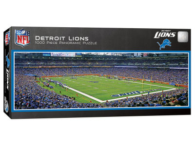 Detroit Lions 1000 Piece Panoramic Puzzle
