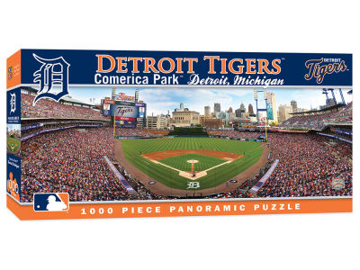 Detroit Tigers 1000 Piece Panoramic Puzzle