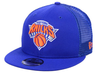 New York Knicks New Era NBA Nothing But Net 9FIFTY Snapback Cap