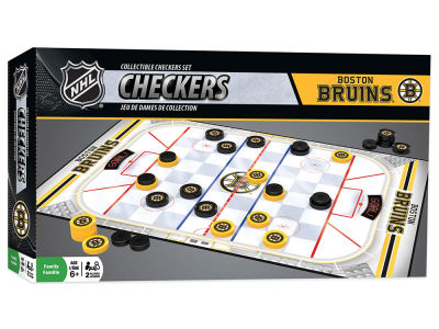 Boston Bruins Checkers