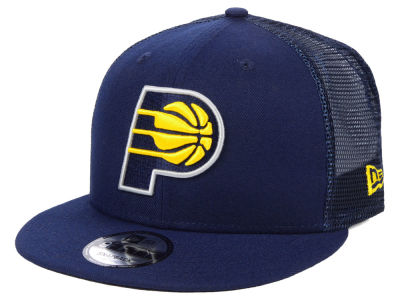 Indiana Pacers New Era NBA Nothing But Net 9FIFTY Snapback Cap d96f4c4d00c