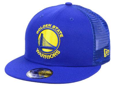 Golden State Warriors New Era NBA Nothing But Net 9FIFTY Snapback Cap 4e1e114dcd73