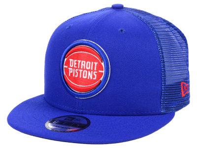 8a2cc2fdd5d Detroit Pistons New Era NBA Nothing But Net 9FIFTY Snapback Cap