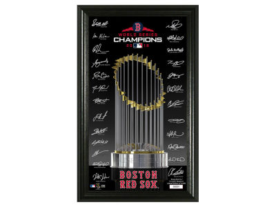 Boston Red Sox Highland Mint 2018 MLB World Series Champ Signature Trophy