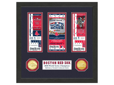 Boston Red Sox Highland Mint 2018 MLB World Series Champ Ticket Collection