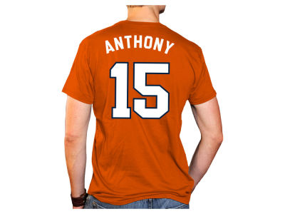 27e5602d5f2 ... spain syracuse orange carmelo anthony retro brand ncaa mens throwback  name and number basketball t shirt