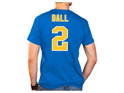 UCLA Bruins Lonzo Ball Retro Brand NCAA Men's Throwback Name and Number Basketball T-Shirt