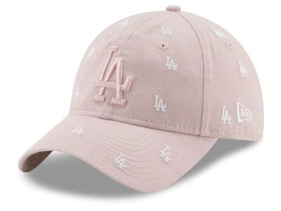 Los Angeles Dodgers New Era MLB Women s Logo Scatter Adjustable 9TWENTY Cap c32c890bb05b