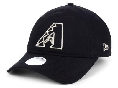Arizona Diamondbacks New Era MLB Women s Foil Script Hook 9TWENTY Cap 667724a76