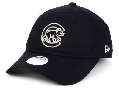Chicago Cubs New Era MLB Women's Foil Script Hook 9TWENTY Cap