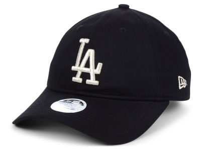 Los Angeles Dodgers New Era MLB Women s Foil Script Hook 9TWENTY Cap dc9e839dc90