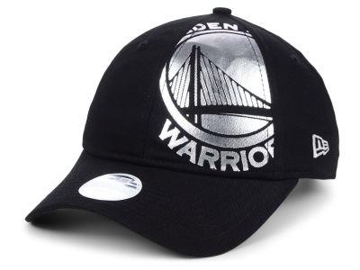 Golden State Warriors New Era NBA Women s Foil Script Hook 9TWENTY Cap be9940d2d1d6