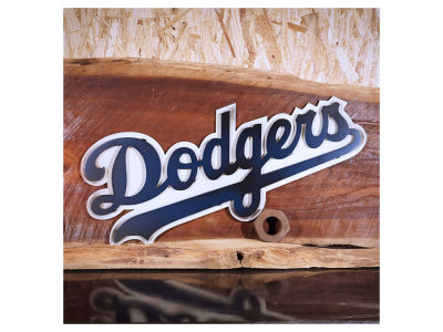 Los Angeles Dodgers MLB 3D Metal Artwork