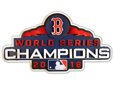 Boston Red Sox Hex Head Art 2018 MLB World Series Champ 3D Metal Artwork