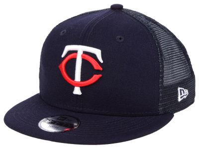 Minnesota Twins New Era MLB Youth All Day Mesh Back 9FIFTY Snapback Cap 14a8e339f456