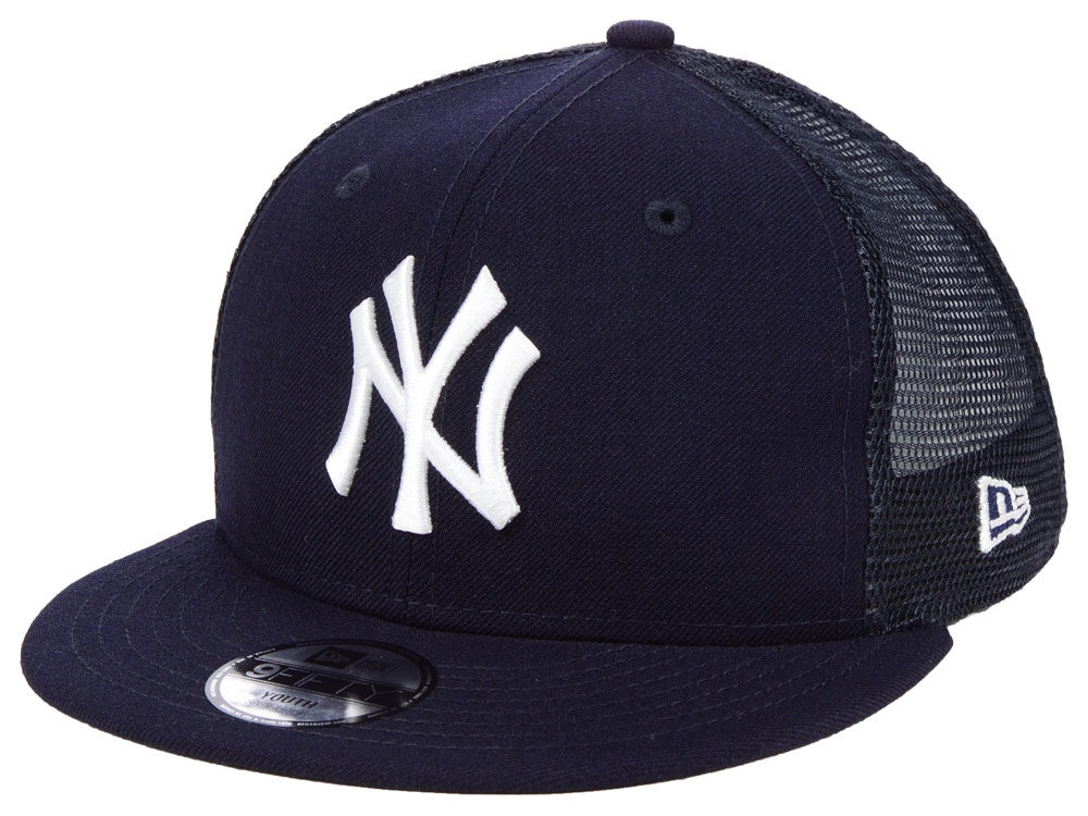79b3e792d6c New York Yankees New Era MLB Youth All Day Mesh Back 9FIFTY Snapback Cap