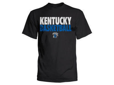 Kentucky Wildcats Top of the World NCAA Stacked Basketball T-Shirt 18 ES