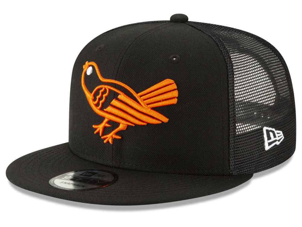8a677fb17ae Baltimore Orioles New Era MLB Coop All Day Mesh Back 9FIFTY Snapback Cap