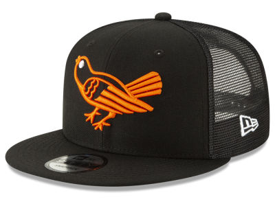 Baltimore Orioles New Era MLB Coop All Day Mesh Back 9FIFTY Snapback Cap fdc5a48d960