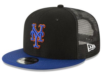 New York Mets New Era MLB Coop All Day Mesh Back 9FIFTY Snapback Cap 3e212269d