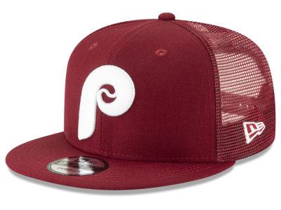 Philadelphia Phillies New Era MLB Coop All Day Mesh Back 9FIFTY Snapback Cap 4d3aa56c439b