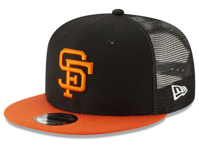 San Francisco Giants New Era MLB Coop All Day Mesh Back 9FIFTY Snapback Cap b9174133cd7