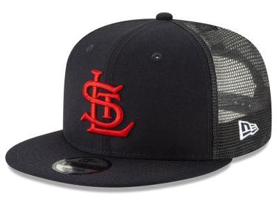 St. Louis Cardinals New Era MLB Coop All Day Mesh Back 9FIFTY Snapback Cap d97001d15cd
