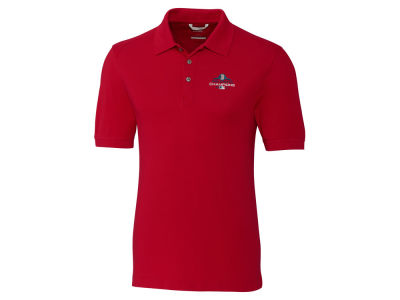 Boston Red Sox Cutter & Buck 2018 MLB Men's World Series Champ Advantage Polo
