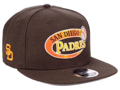 San Diego Padres New Era MLB Swoop 9FIFTY Snapback Cap 309892dc759