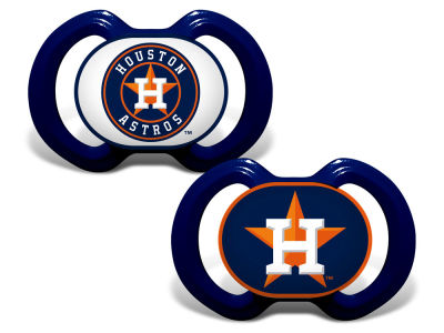Houston Astros Baby Fanatic 2-pack Pacifier Set