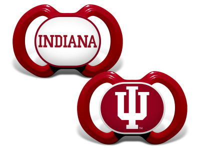 Indiana Hoosiers Baby Fanatic 2-pack Pacifier Set