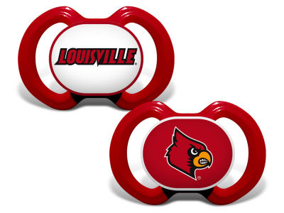 Louisville Cardinals Baby Fanatic 2-pack Pacifier Set