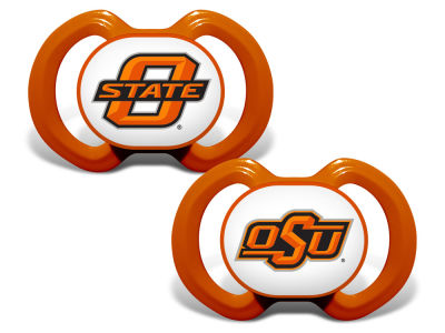 Oklahoma State Cowboys Baby Fanatic 2-pack Pacifier Set