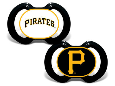 Pittsburgh Pirates Baby Fanatic 2-pack Pacifier Set