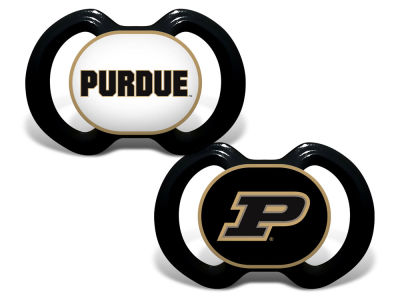 Purdue Boilermakers Baby Fanatic 2-pack Pacifier Set