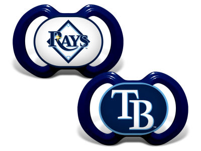 Tampa Bay Rays Baby Fanatic 2-pack Pacifier Set