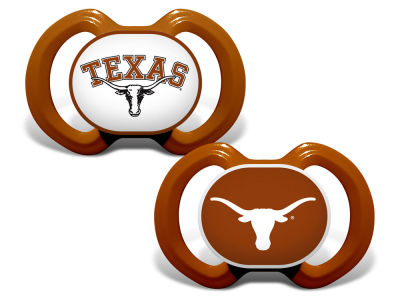 Texas Longhorns Baby Fanatic 2-pack Pacifier Set