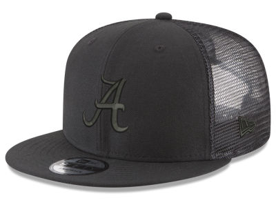 d8848a116c9 Alabama Crimson Tide New Era NCAA Black Meshback 9FIFTY Snapback Cap