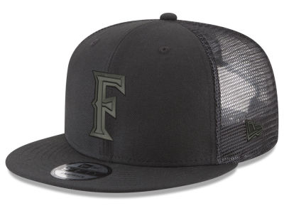 Cal State Fullerton Titans New Era NCAA Black Meshback 9FIFTY Snapback Cap