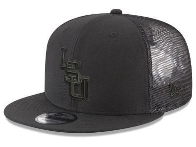 d28d2404850 LSU Tigers New Era NCAA Black Meshback 9FIFTY Snapback Cap